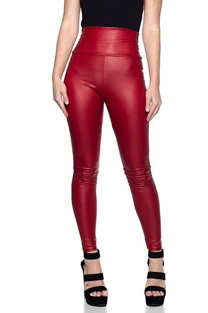 J2 Love Faux Leather Leggings