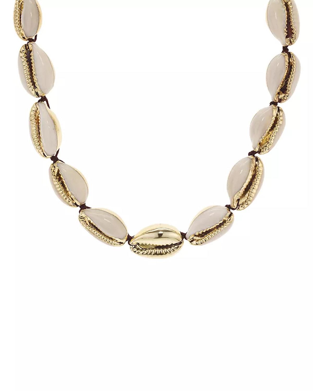 Aqua Shell Necklace