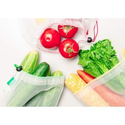 YIHONG Zero Waste Produce Bags (Set of 15)