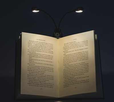 LuminoLite Rechargeable Book Light