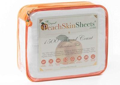 PeachSkinSheets Moisture-Wicking King Sheets