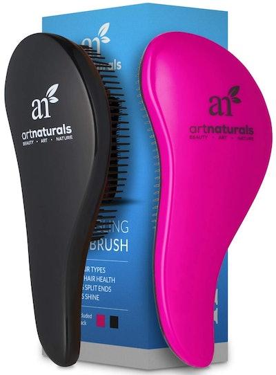 ArtNaturals Detangling Hairbrush (2 Pack)