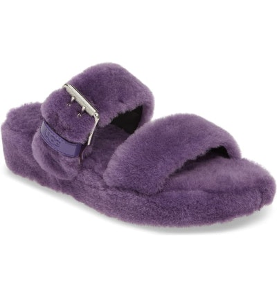 Fuzz Yeah Genuine Shearling Slipper