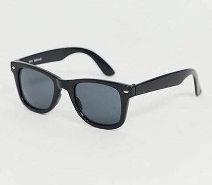 AJ Morgan Square Sunglasses In Black