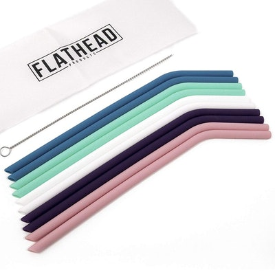 Flathead Products Drinking Straws (10 Pack)