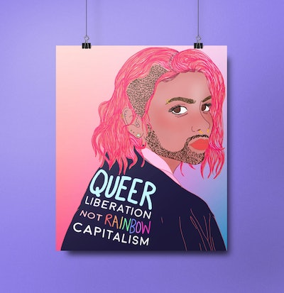 Queer Liberation Not Rainbow Capitalism
