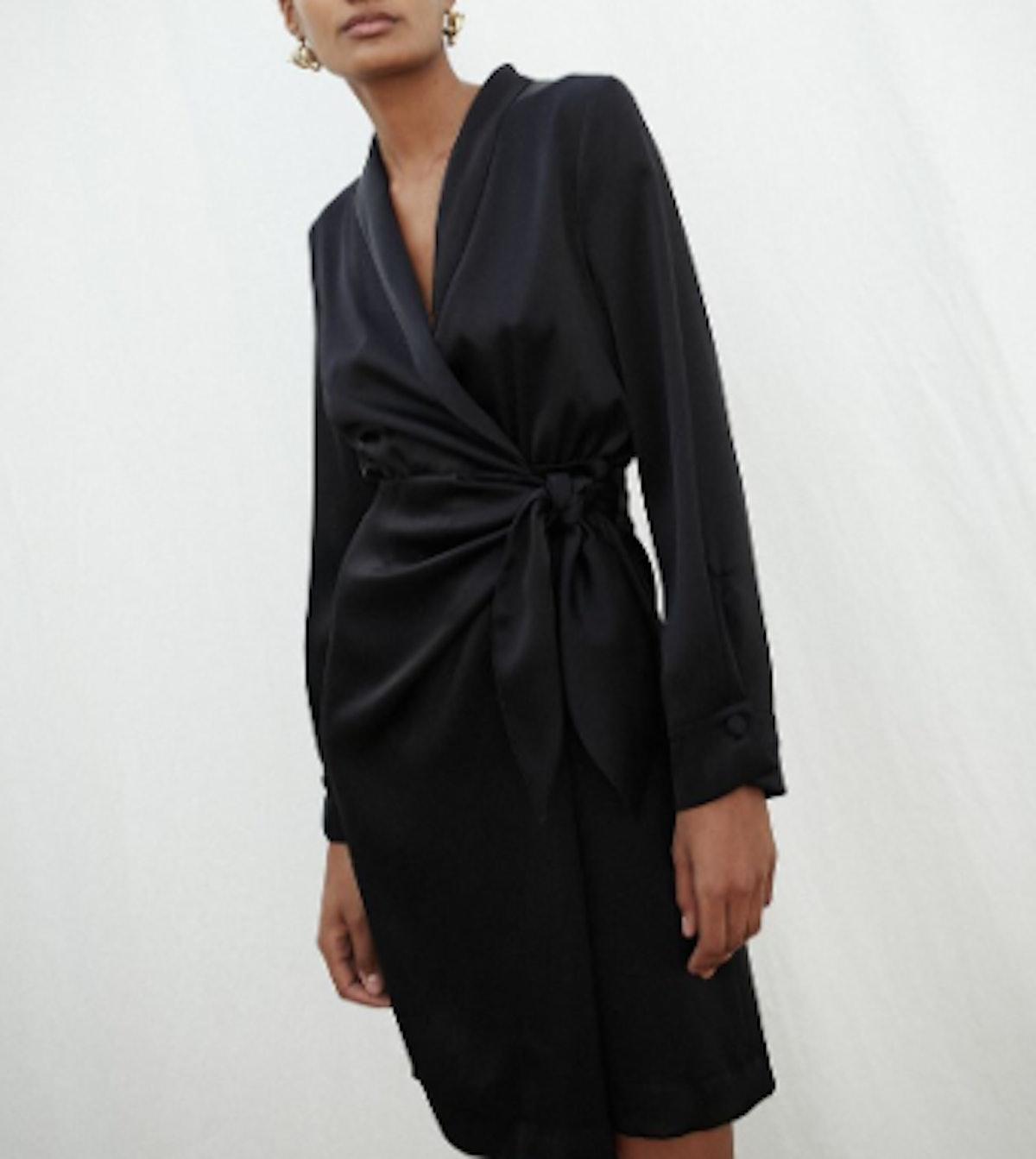 Siwa Wrap Front Dress