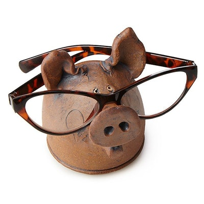 Pig Eyeglass Holder