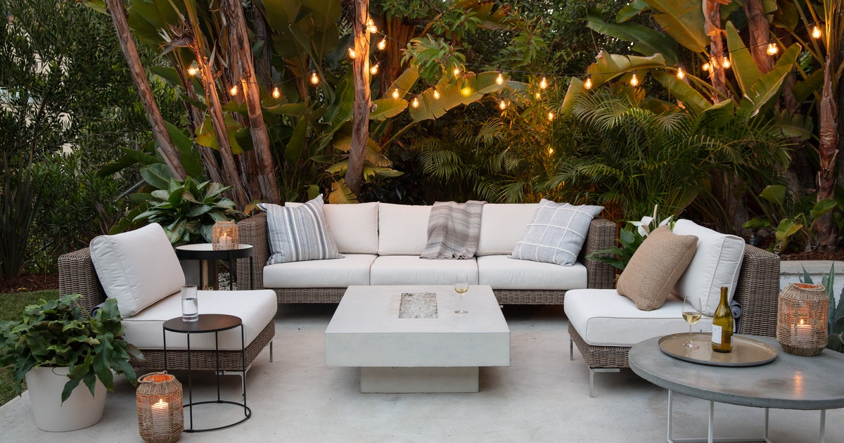 Backyard Decor Ideas That'll Turn Your Outdoor Space Into A Summer Oasis
