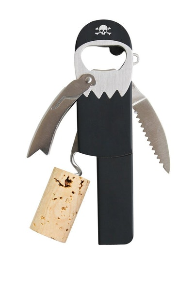 Pirate Beer and Wine Opener