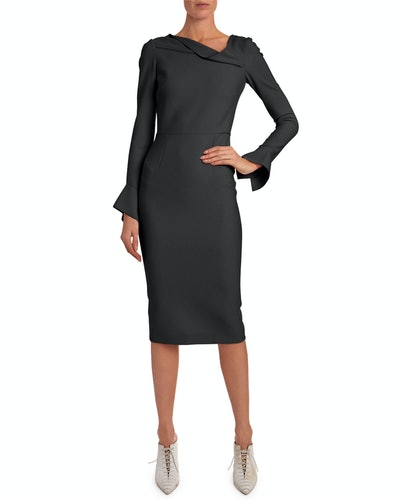 Liman Funnel-Cuff Dress