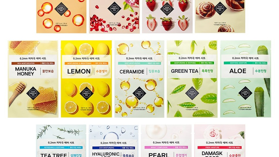30 Top Korean Sheet Masks For Any Skin Concern