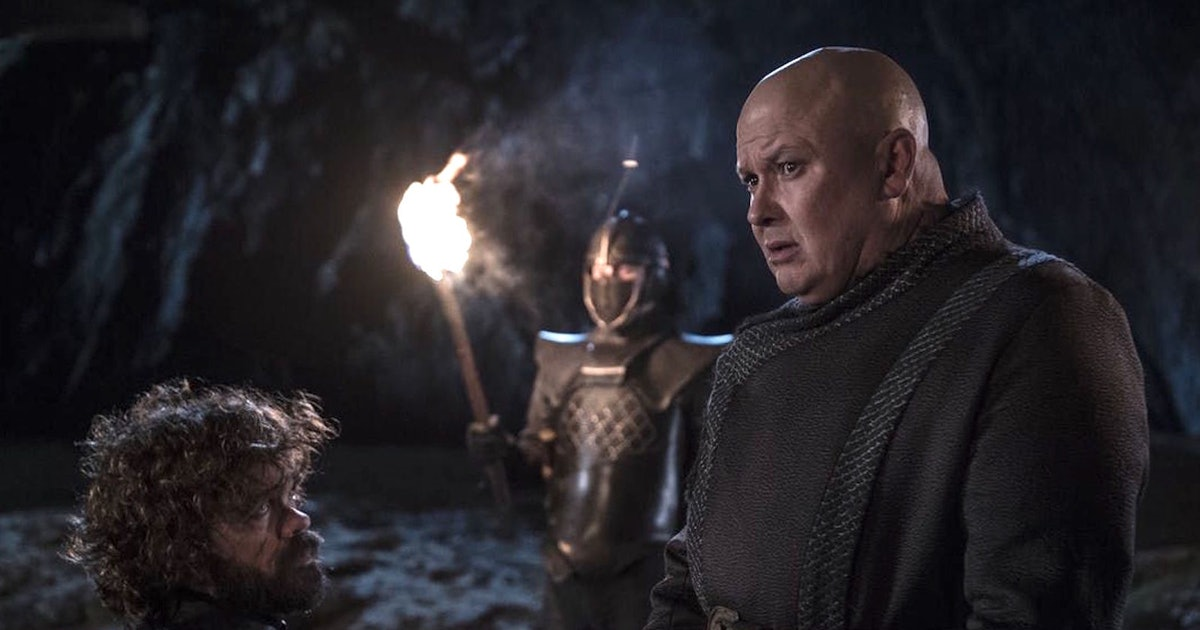Varys' Death Scene In 'Game Of Thrones' Is Even Sadder When You Watch The Actor's Reaction