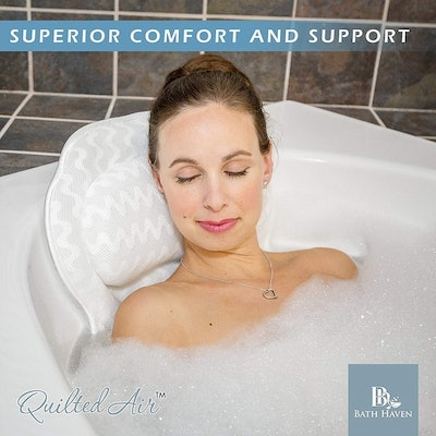 QuiltedAir Luxury Bathtub Pillow