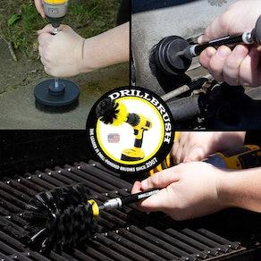 Drillbrush Power Scrubber Attachments