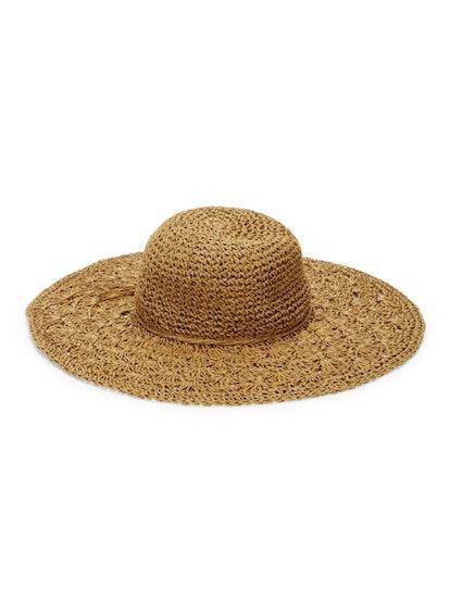 MARCUS ADLER Textured Floppy Hat