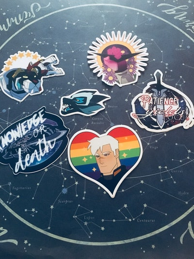 VLD Stickers