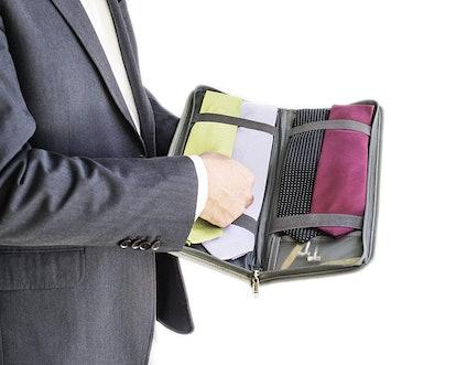 LeanTravel Tie Case Organizer