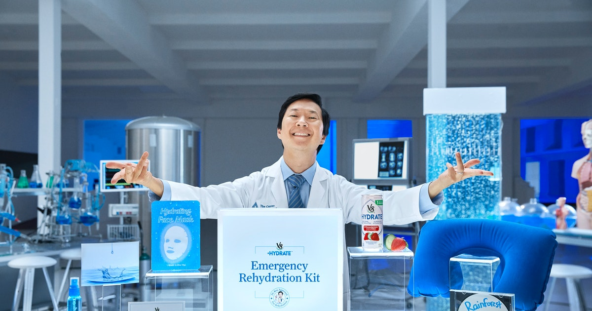 V8 & Ken Jeong's Emergency Rehydration Kit Is What You Need For The Summer Heat
