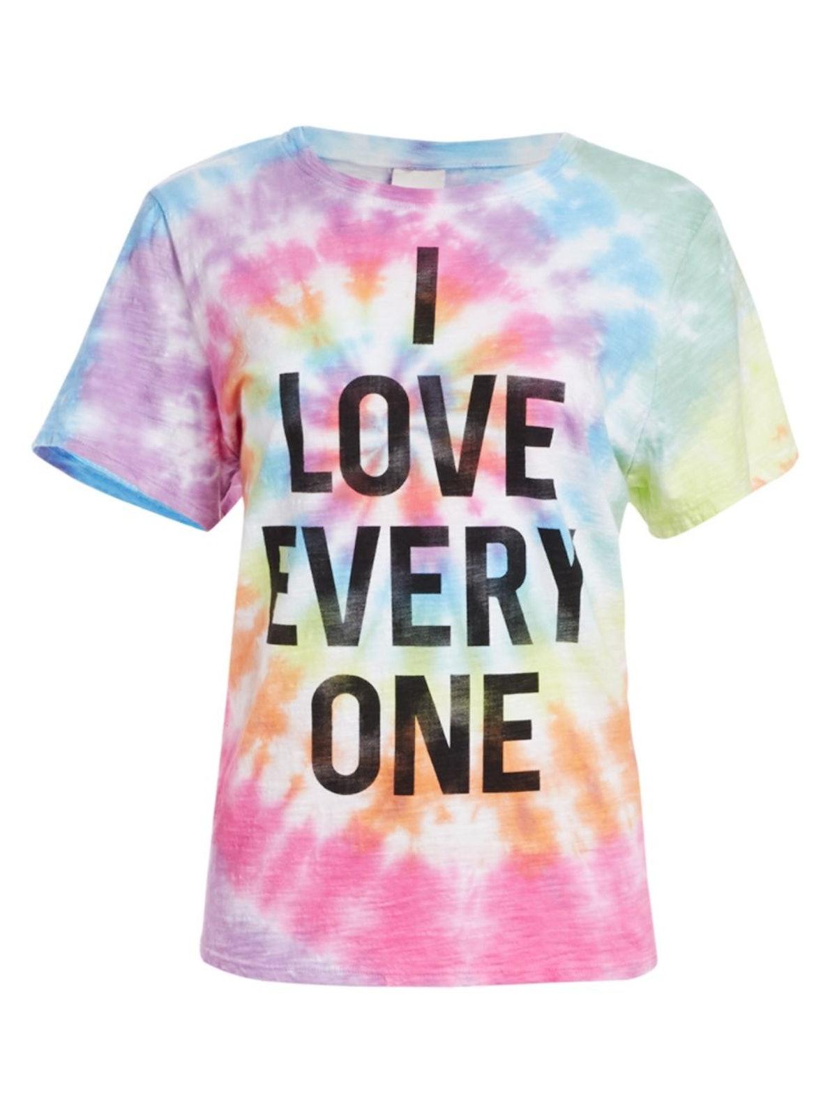 Cinq à Sept Unisex Stonewall Tie Dye Tee