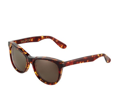 Catfarer Round Tortoiseshell Acetate Sunglasses
