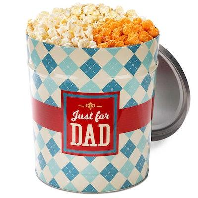 Father's Day Popcorn Tin