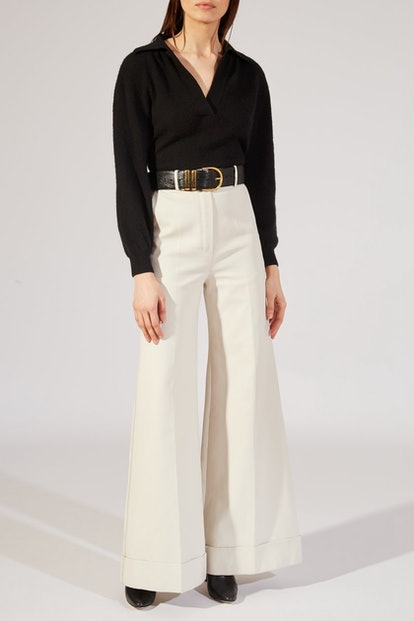 The Beatrice Pant In Cream