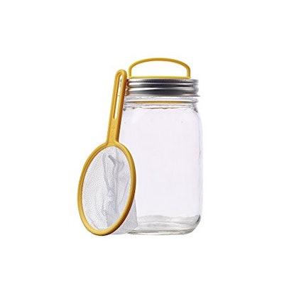 Firefly Catching Mason Jar Repurposing Lid Kit