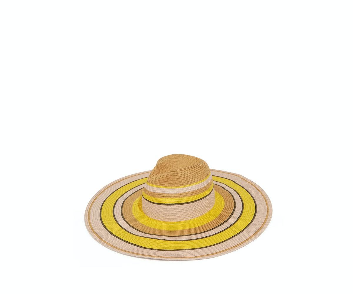 STRIPE FLOPPY HAT