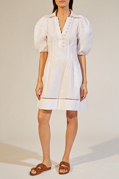 The Carlina Dress In White