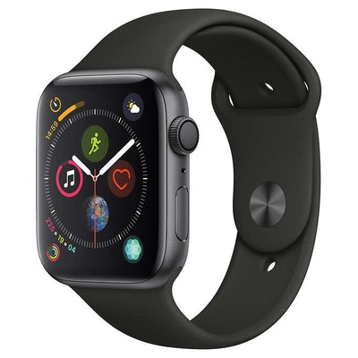 Apple Watch Series 4 GPS with Black Sport Band