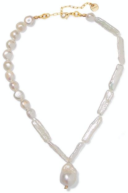 Seashore Pearl Necklace