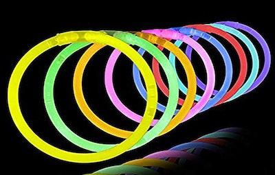 8-Inch 100 Pack Glow Sticks