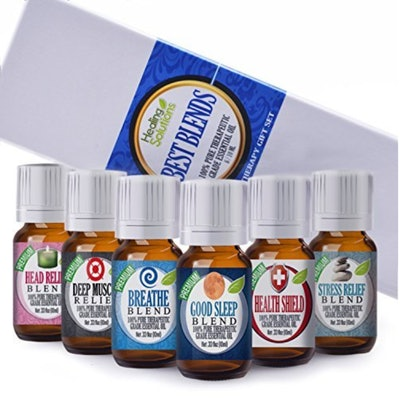 Healing Solutions Essential Oil Set
