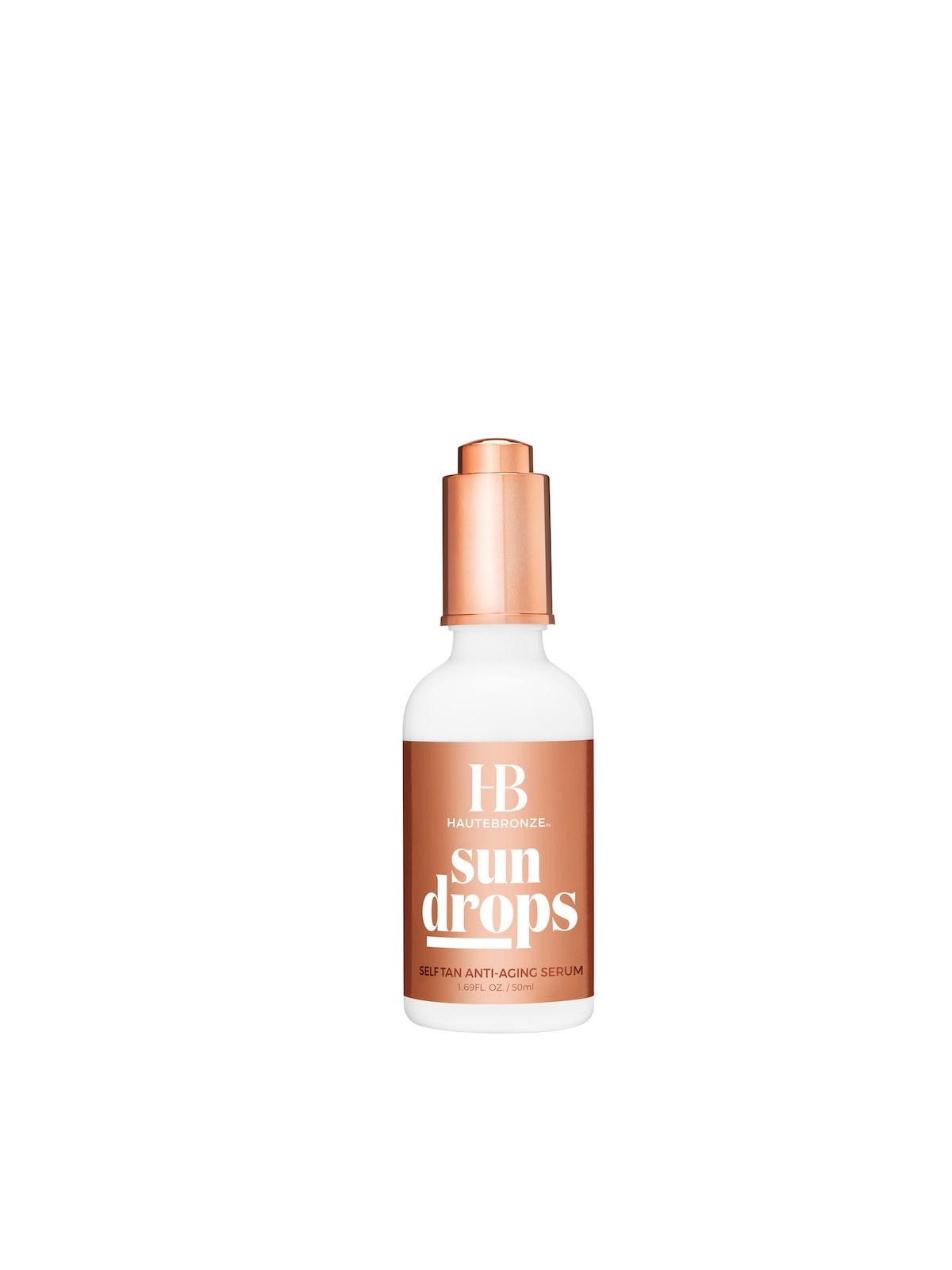 HauteBronze Sun Drops Self Tan Anti-Aging Serum