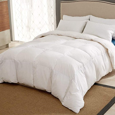 Puredown Winter 100% Cotton Down Comforter