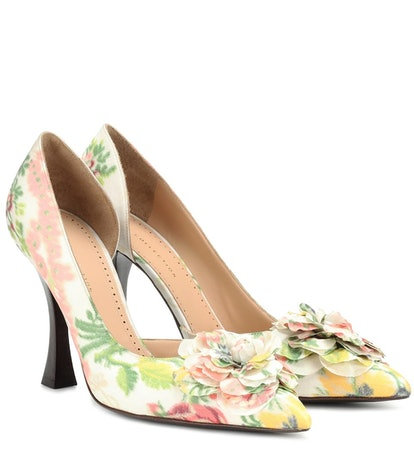 Brock Collection Floral Pumps