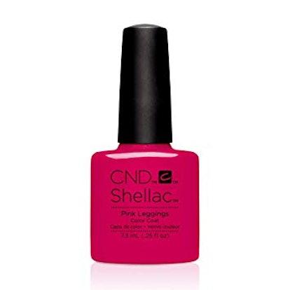 Shellac Nail Polish in Pink Leggings