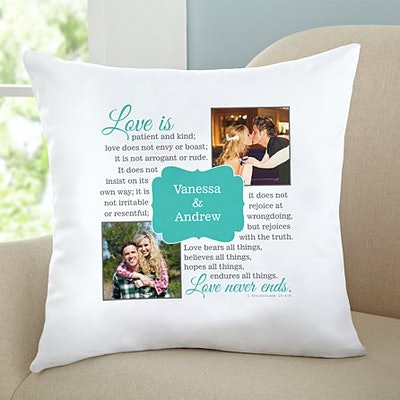 Love Is…Photo Throw Pillow