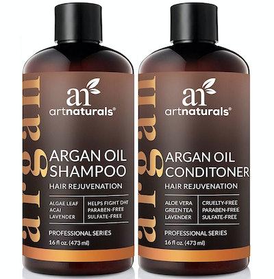 ArtNaturals Argan Oil Shampoo & Conditioner Duo, 16 Fl. Oz. Each