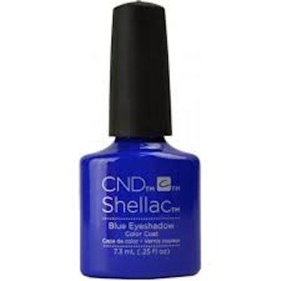 Shellac Nail Polish - Blue Eyeshadow