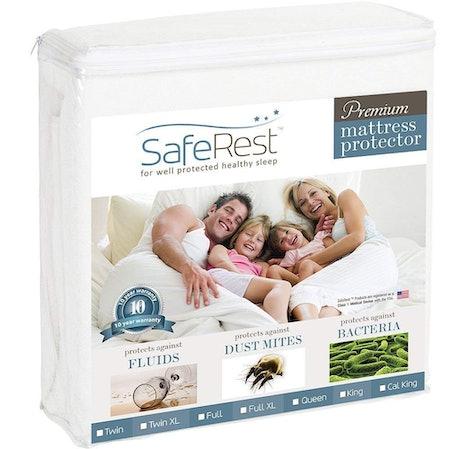SafeRest Premium Mattress Protector (Twin)
