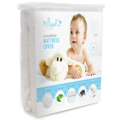 Milliard Quilted Waterproof Crib & Toddler Mattress Protector Pad