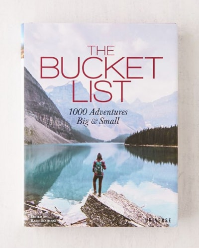 The Bucket List Coffee Table Book