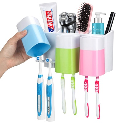 iHave Wall-Mounted Toothbrush Holder