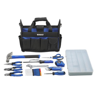 22-Piece Household Tool Set with Soft Case