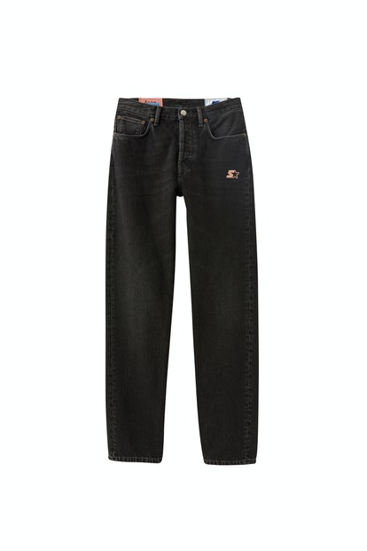 Classic jeans used black