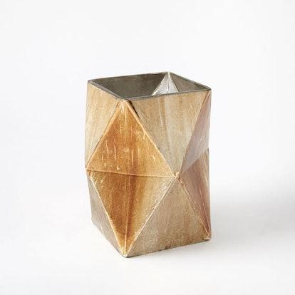 Prism Mercury Vases + Candleholders