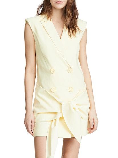 Sleeveless Jacket Dress