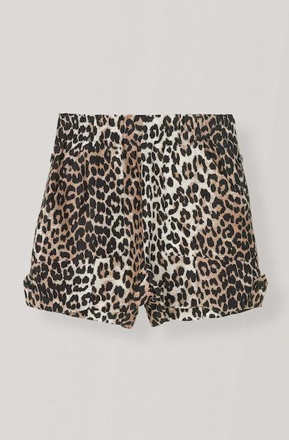 Silk Linen Shorts